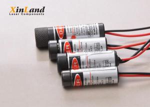 China 635nm 1mw Red Dot Laser Module / Adjustable Focusable Laser Module Line 635nm on sale