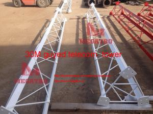 30M guyed telecom tower for sale – telecommunication tower