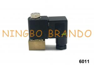China 6011 Burkert Type Direct Acting Plunger Miniature Solenoid Valve 2 Way G1/8 AC220V on sale
