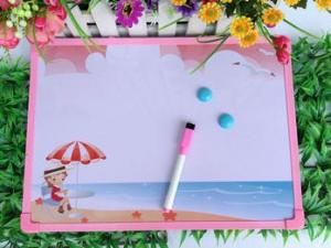 China plastic magnetic whiteboard 30*40cm writing magnetic Dry erase writing board on sale
