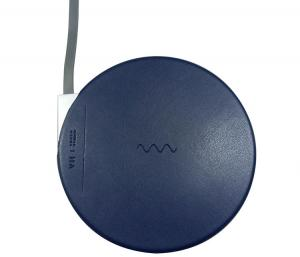 China Advanced Wireless Charger Qi Standard Aluminum Pu Water - Proof Traveling Portable on sale