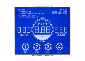 China Multi Function HTN Module Digital LCD Screen Panel / Transmissive LCD Display on sale
