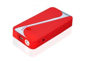 China High Power 12v Portable Car Jump Starter With Air Compressor 9000 mAh on sale
