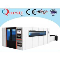 China Big Sheet Metal Laser Cutting Machine 2x4M 3000W With Sealed Working Table on sale
