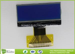 China 128x32 COG Graphic LCD Module STN Blue Nagative Monochrome LCD Display on sale