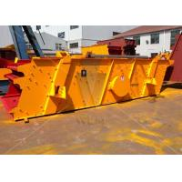 Durable Vibrating Screen for stone / mining crushing 50-300t/h