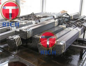 China Dn50 Retangular Welded Steel Tube Astm A450 With Oiled Surface Treatment on sale