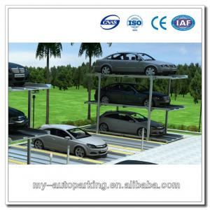 Three Layer Car Parking System Underground Pit Vertical 3 Level Auto