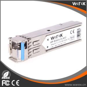 China 100Base-BX 1550nm Tx/1310nm Rx 20km SFP BIDI Optical Transceiver on sale
