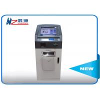 Self service payment ATM credit card wall mount kiosk with desktop visitor management