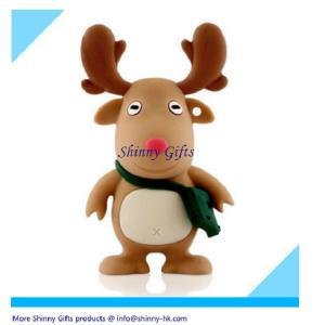 China Deer shape usb flash drive christmas on sale