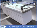 Fashion Showroom Display Cases / Shoe Display Unit Wooden Plus Metal Material