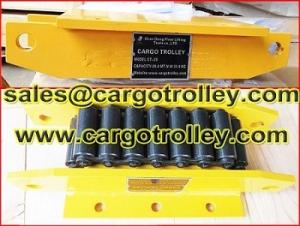 China Roller dollies 3 tons to 1000 tons on sale