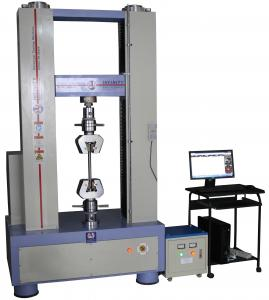 China Electronic Plastic Testing Machines , Plastic Testing Instruments 300KN Capacity on sale