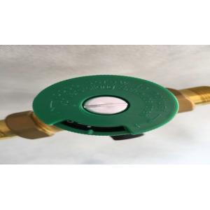 China De couleur verte de contrôle de l'eau filtre divers en laiton pré pour le plancher de chauffage on sale