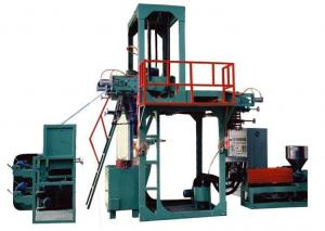 China PVC Hot Shrink Blown Film Extrusion Line  , Plastic Film Making Machine on sale