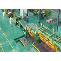 Electric Control Sheet Metal Coil Line , Steel Sheet Slitting Machine For Galvanized Coil