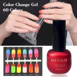 private label Nail Thermal changing gel polish color