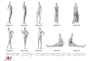 China Jolly mannequins-2019 best selling high fashion abstract mannequins female collection Melody-1 on sale