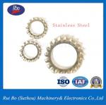 Stainless Steel Carbon Steel DIN6798A External Serrated Lock Washer Flat Washer Spring Washer