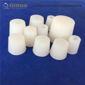 China Shanghai Qinuo Manufacture Laboratory Lab Flask Test Tube Bottle Glassware Tapered Rubber Plug Bung Stopper on sale