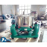 Efficient Industrial Basket Centrifuge High Speed For Olive Oil / Slurry Filtration