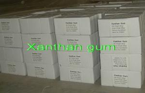 China Beverage Food Additives Thickeners , Xanthan Gum CAS 11138-66-2 Mesh 80 / 200 on sale