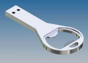 China Mutlifunctional Metal Bottle Opener USB Flash Drive Keyring As Corporate Gifts on sale