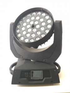 China Pro led stage light 36pcs 10w 4in1 36x10w rgbw 36x10 zoom wash led moving head light on sale