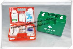 China Deluxe First Aid Kits ABS Material Emergency For Office / Workplace / Home on sale