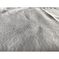 T/C 57/8 Width Jacquard Yarn Dyed Cotton Fabric  For Clothes / Mens Shirt Apparel