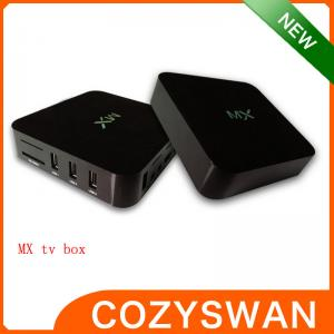 China 5V 2A AML8726-MX HD MX Mail 400 Android Smart TV Box xbmc HDMI Output High Performance supplier