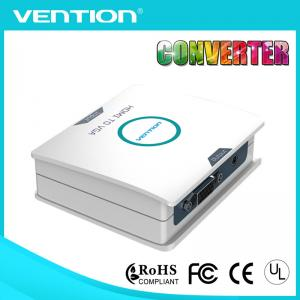 China White HDMI to VGA HDMI Converters Adapter 1080P for AV Adaptor PC High Speed on sale