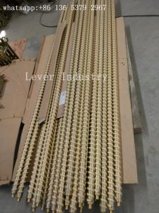 China Fiber Ropes Tempering Furnace Parts Steel Rollers With Kevlar Ropes on sale
