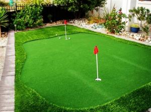 China 8mm  Commercial golf artificial turf / grass indoor , eco friendly on sale
