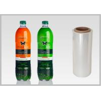 China Waterproof PETG Shrink Film For Beverage Bottles Packaging / Cosmetics Packaging on sale