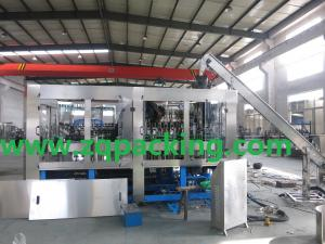 China fully automatic glass making plant for wine or beverage on sale