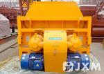 Large Hydraulic  Concrete Mixing Machine  JS2000 Stationary Concrete Mixer