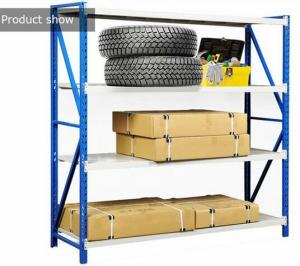 China Garage Shelving Unit Warehouse Storage Shelves Heavy Duty Steel Shelves on sale