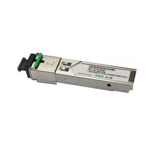 China Bidirectional Fiber Optic Transceiver SC DDM , Gigabit Optical Transceiver Cisco Compatible on sale