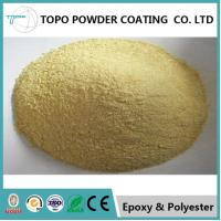 China RAL 1000 Green Beige Heat Transfer Powder Coating 180℃ / 10 Min Curing on sale