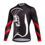 Breathable Custom Cycling Jersey Digital Full Sublimation Transfer Print