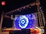 Outdoor Banquet Party Events Aluminum Square Truss System Decent Sturdy Truss