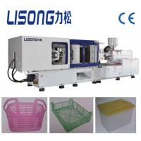 320ton full automatic plastic injection molding machine with servo motor for HDPE PP PS crate
