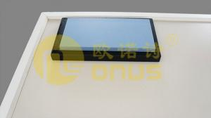 China Black ice bule epoxy resin worktops with monolithic technology on sale