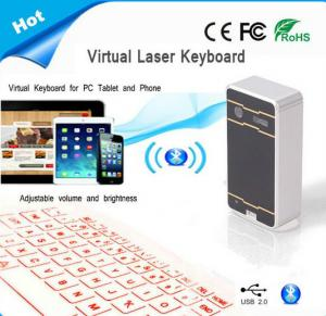 China 2014 new products Virtual Bluetooth laser projection keyboard for iPad ,tablet pc .smartphone on sale