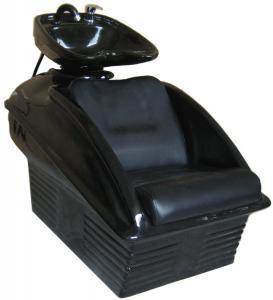 China Lie Down Shampoo Chairs And Sinks Fiberglass , Reclining Shampoo Chair 33 Height on sale