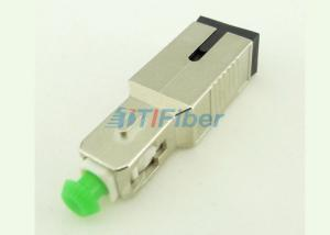China 15dB SC UPC APC Fiber Optical Attenuator Female to Male Type Metal Housing on sale