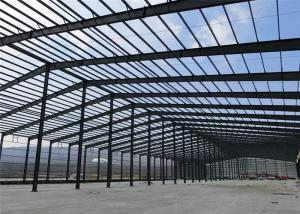 Easy Install Steel Structure Construction Insulated Prefab Warehouse
