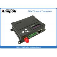 China Full Duplex Ethernet Video Transceiver RS232/ RS485 COFDM Wireless Transmitter and Receiver on sale